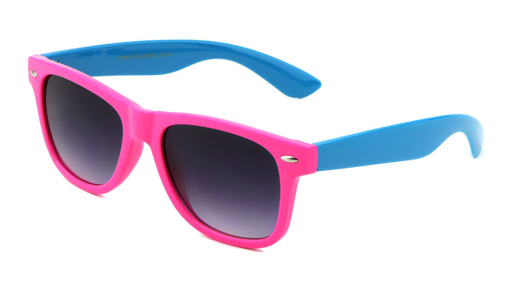 Classic Neon Color Wholesale Bulk Sunglasses