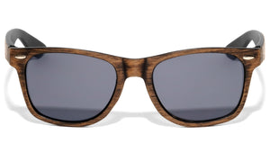 Classic Wood Texture Pattern Sunglasses
