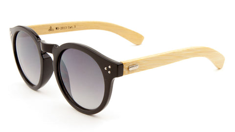 EKO Wood Retro Wholesale Bulk Sunglasses