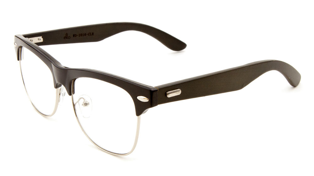 EKO Combination Clear Wood Eyewear Wholesale