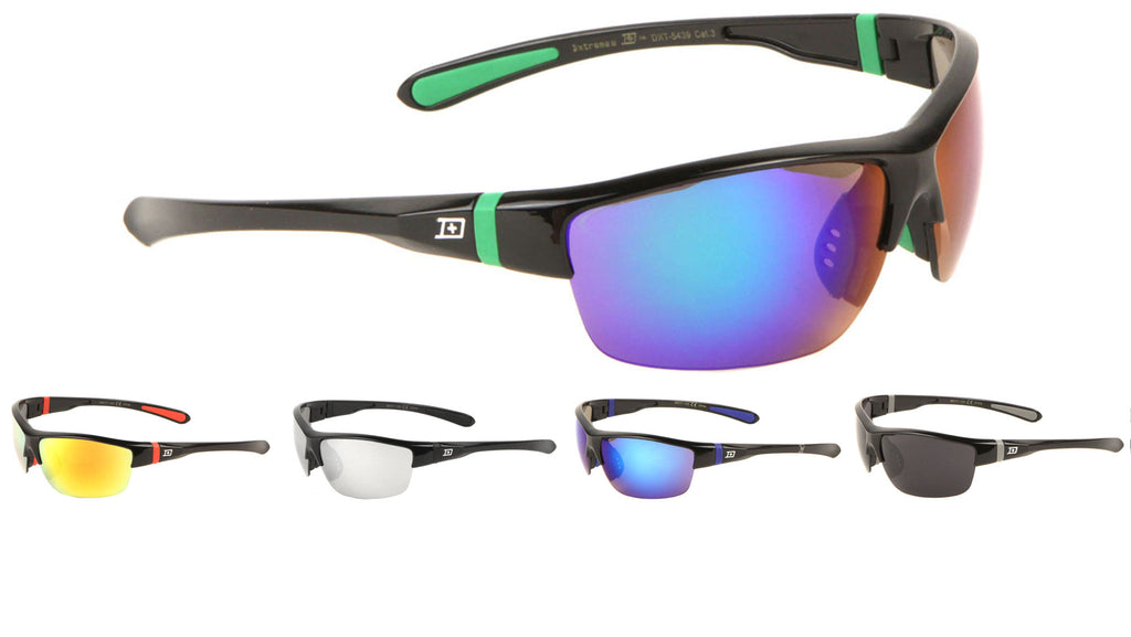 DXTREME Semi Rimless Sports Sunglasses Wholesale
