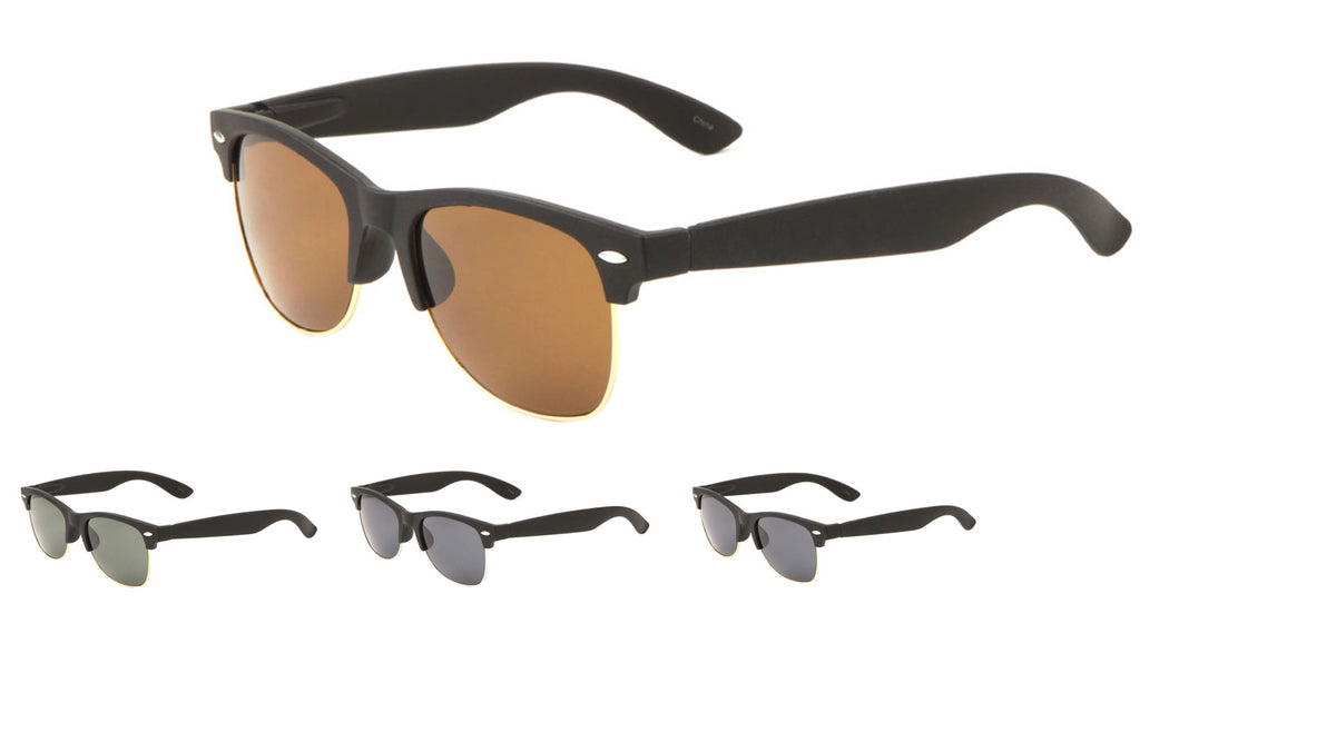 MICA Super Dark Soft Coat Combination Sunglasses