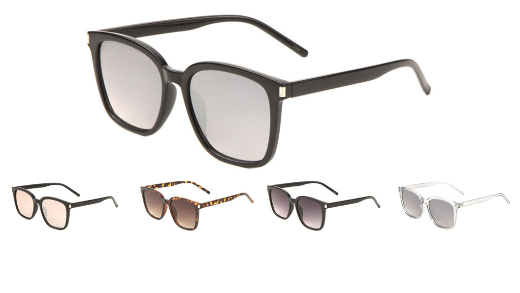 Squared Retro Sunglasses Wholesale