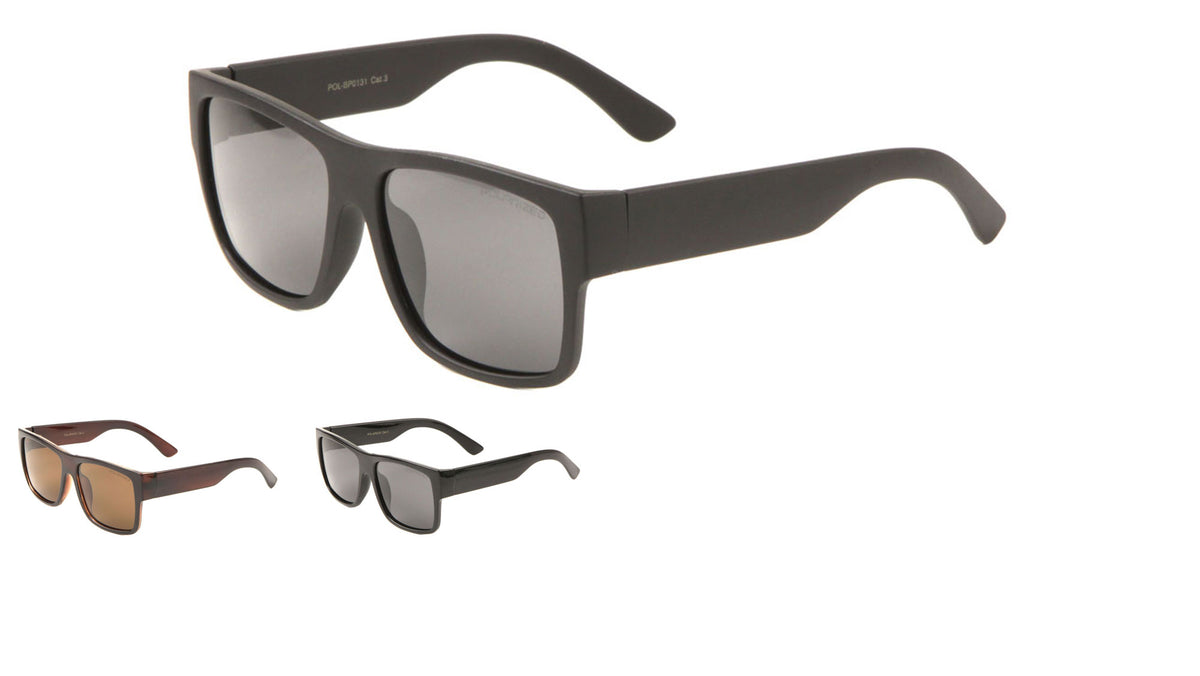 Polarized Classic Flat Sunglasses Wholesale