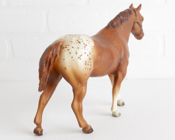 Breyer Chestnut Blanket Appaloosa Quarter Horse Gelding #97 at Lobster Bisque Vintage
