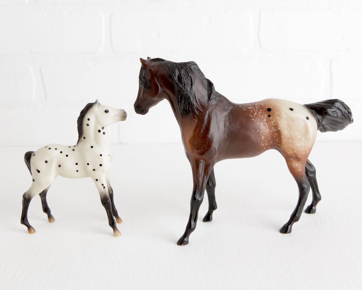 Breyer Dreamcatcher and Spotted Leopard Colt at Lobster Bisque Vintage