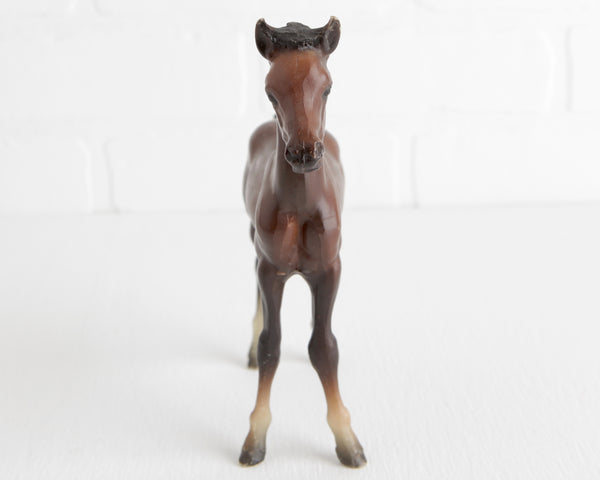 Breyer Dark Bay Proud Arabian Foal #219 at Lobster Bisque Vintage