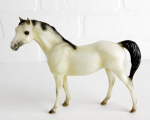 Breyer Buck, B Ranch Series Buckskin Silky Sullivan at Lobster Bisque Vintage