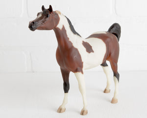 Breyer Bay Pinto Black Stallion Arabian at Lobster Bisque Vintage