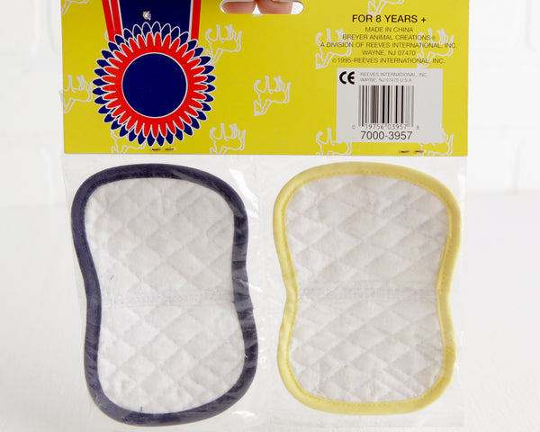 Breyer #3957 Quilted Show Saddle Pads at Lobster Bisque Vintage