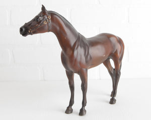 Breyer Dark Bay War Admiral #1189 at Lobster Bisque Vintage