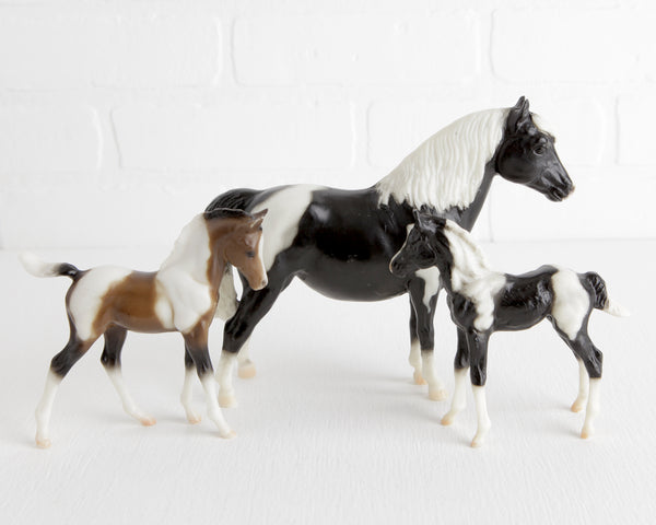 Breyer Marguerite Henry's Our First Pony Set with Shetland Mare and Two Foals #3066 at Lobster Bisque Vintage