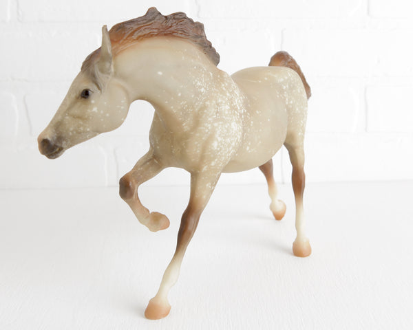 Breyer Dapple Rose Gray Running Stallion #928 at Lobster Bisque Vintage