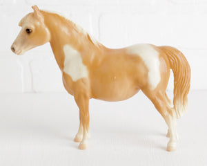 Breyer Palomino Pinto Shetland Pony #22 at Lobster Bisque Vintage