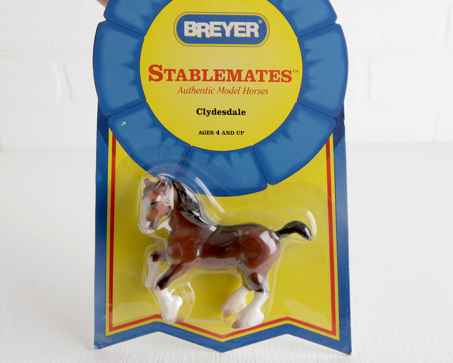 Breyer Stablemate #5604 Bay Clydesdale at Lobster Bisque Vintage