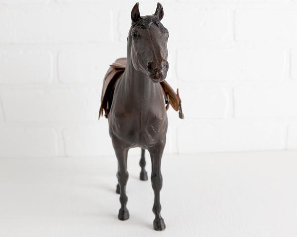 Breyer 1979 Sears Special Trakehner with English Saddle at Lobster Bisque Vintage