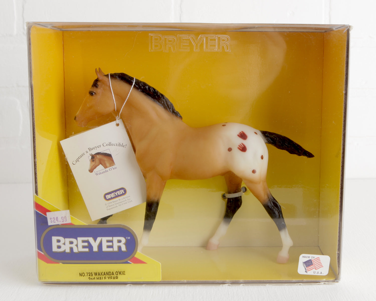 Breyer Wakanda Okie #725 in Original Box at Lobster Bisque Vintage