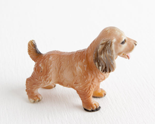 Fawn Cocker Spaniel with Black Ears at Lobster Bisque Vintage