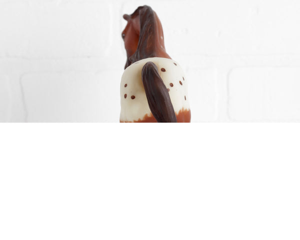 Breyer Cinnamon, Blanket Appaloosa Mare Limited Edition on Lady Roxanna Mold at Lobster Bisque Vintage