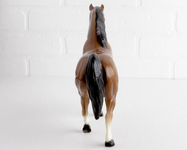 Breyer Glossy Bay Family Arabian Stallion #13 at Lobster Bisque Vintage