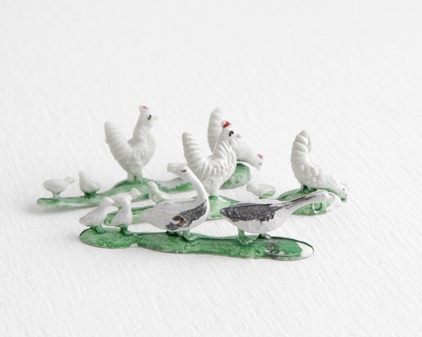 Geese and Chickens Lot at Lobster Bisque Vintage