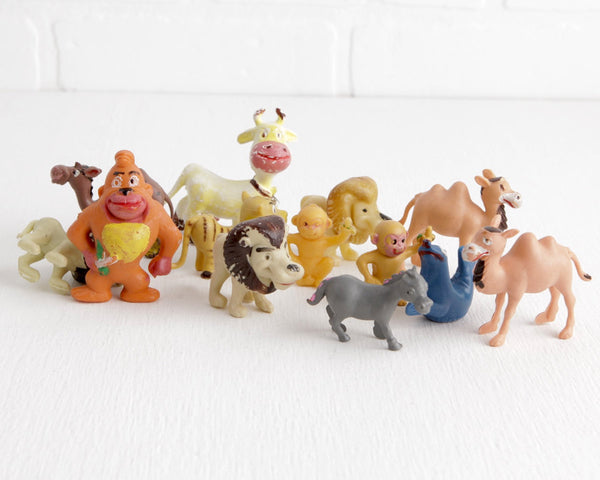 Lot of 13 Hong Kong Anthropomorphic Animals at Lobster Bisque Vintage