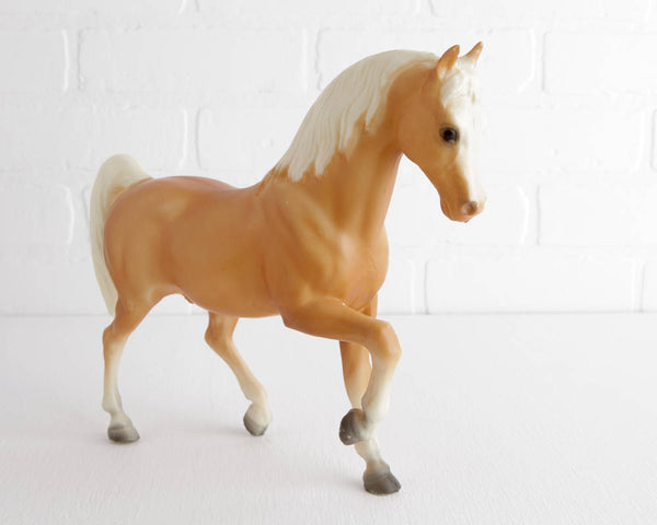Breyer Palomino Family Arabian Stallion #4 at Lobster Bisque Vintage