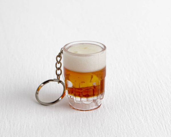 Wisconsin Beer Keychain at Lobster Bisque Vintage