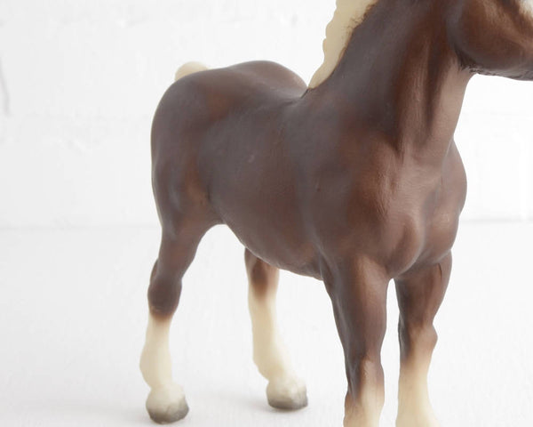Breyer Liver Chestnut Clydesdale Foal #894 at Lobster Bisque Vintage