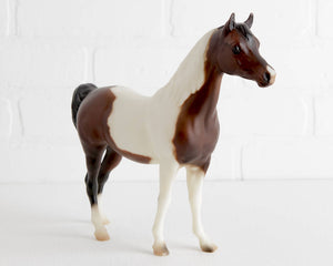Breyer Bay Pinto Proud Arabian Mare Karma Gypsy #948 at Lobster Bisque Vintage