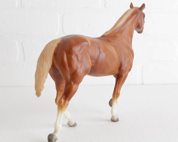 Breyer Skipster's Chief Sorrel with Flaxen Mane and Tail Stock Horse Stallion at Lobster Bisque Vintage