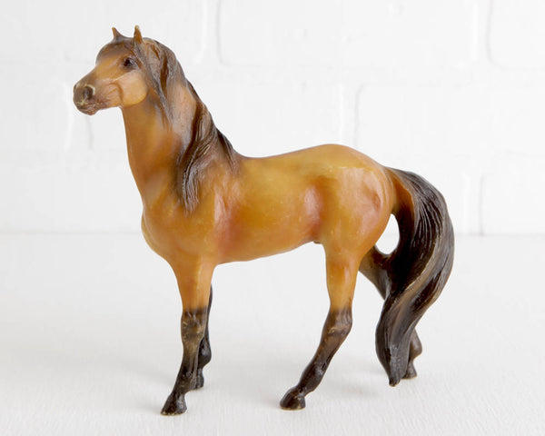 Breyer Mesteno the Messenger Model Horse, Kiger Mustang Series at Lobster Bisque Vintage