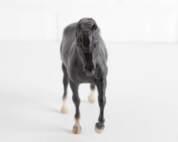 Breyer Black Martins Dominique Miniature Horse at Lobster Bisque Vintage