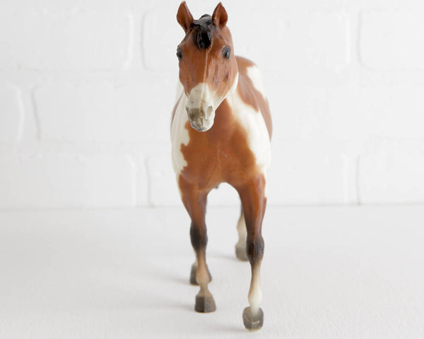 Breyer Bay Overo Stock Horse Mare at Lobster Bisque Vintage