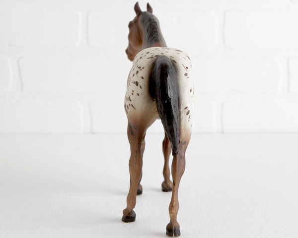 Breyer Appaloosa Quarter Horse Yearling in Brown Blanket Appy with Blaze at Lobster Bisque Vintage