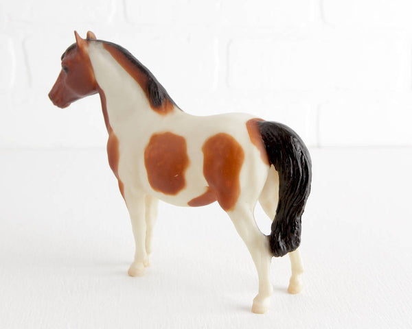 Breyer Bay Pinto Shetland Pony #801 at Lobster Bisque Vintage
