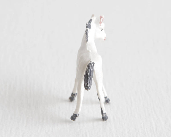 White Horse or Foal at Lobster Bisque Vintage