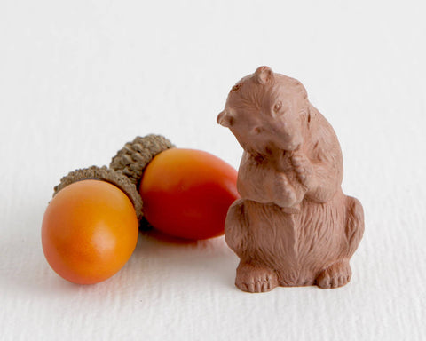 Auburn Toys Brown Bear with Salmon at Lobster Bisque Vintage