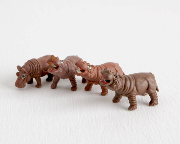Herd of Hippopotamus at Lobster Bisque Vintage