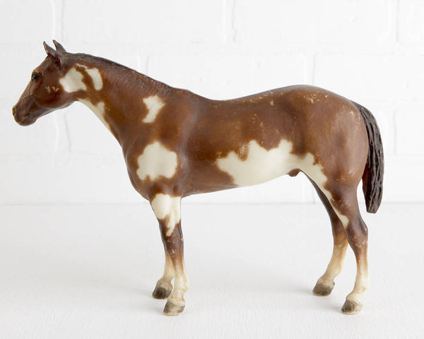 Breyer Horse Chestnut Overo Paint #88 at Lobster Bisque Vintage