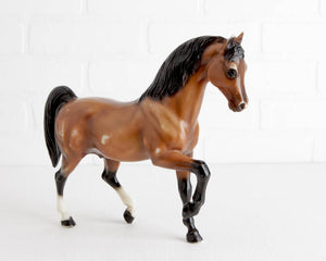Breyer Bay Family Arabian Stallion #814 at Lobster Bisque Vintage