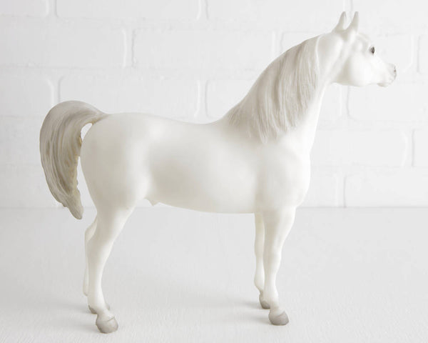 Breyer Alabaster Proud Arabian Stallion #211 at Lobster Bisque Vintage