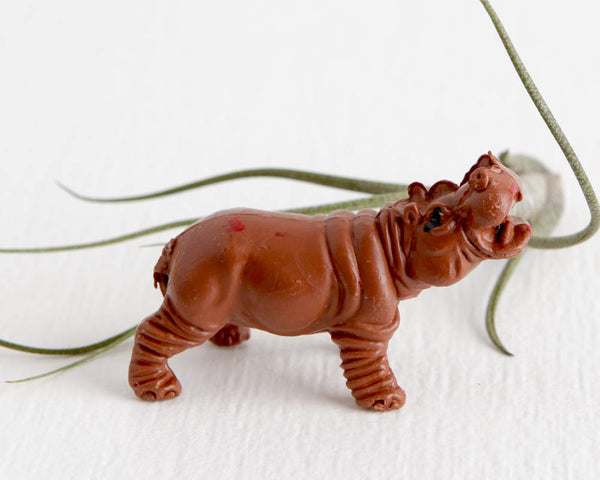 Zombie Hippo Figurine at Lobster Bisque Vintage