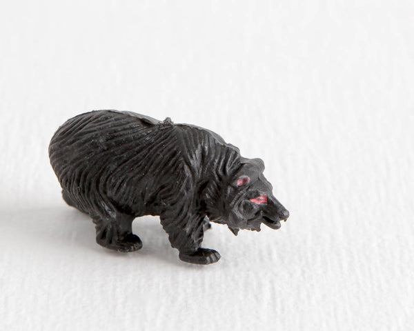 Black Bear Figurine at Lobster Bisque Vintage