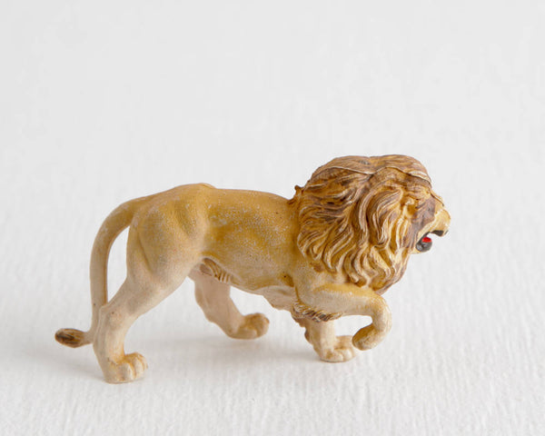 Britains Ltd Lion Figurine at Lobster Bisque Vintage