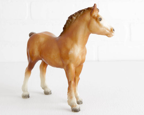 Breyer Chestnut Clydesdale Foal at Lobster Bisque Vintage