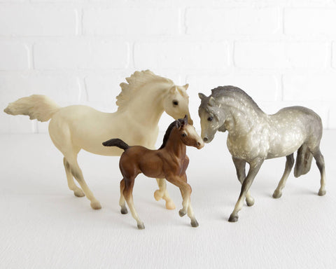 Breyer Andalusian Family #3060 at Lobster Bisque Vintage