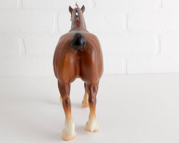 Breyer Clydesdale Stallion #80 at Lobster Bisque Vintage