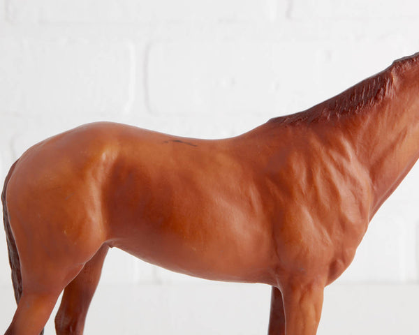Breyer Secretariat #435 Chestnut Thoroughbred Racehorse at Lobster Bisque Vintage