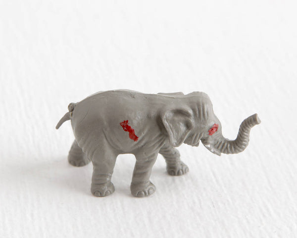 Zombie Elephant Figurine at Lobster Bisque Vintage